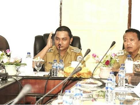 Bakhtiar Sibarani Sambut Kunker Wakil Ketua dan Anggota DPRD Provsu dari Daerah Pemilihan Sumut IX