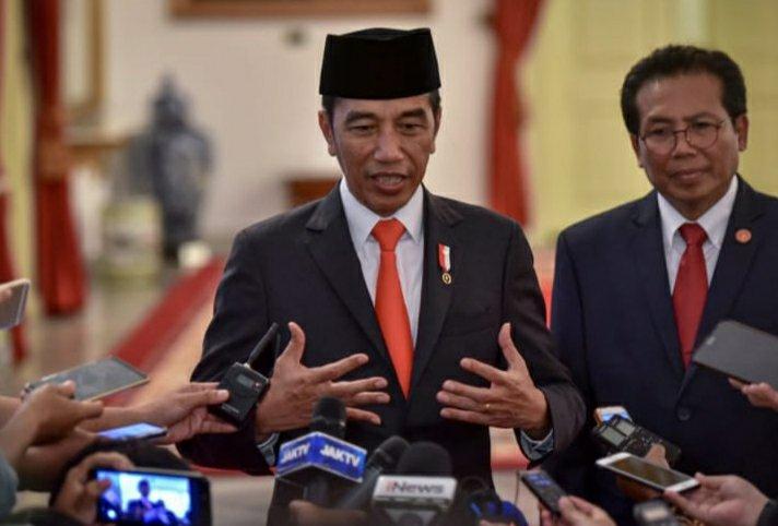 Jokowi Lantik 9 Anggota Dewan Pertimbangan Presiden (Wantimpres) 2019-2024
