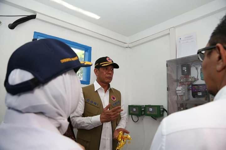 Doni Monardo Resmikan Sistem Peringatan Tsunami di Ambon