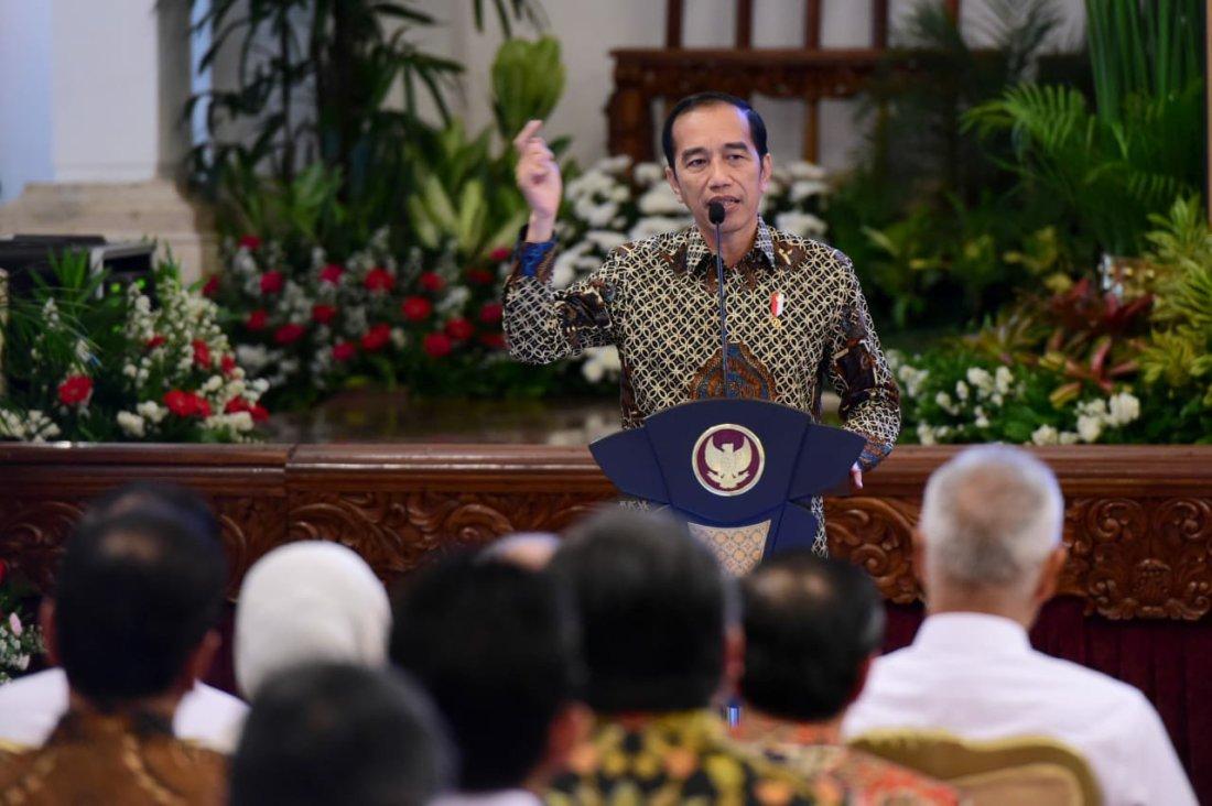 Joko Widodo Ajak Pemimpin Kementerian Bumikan Pancasila