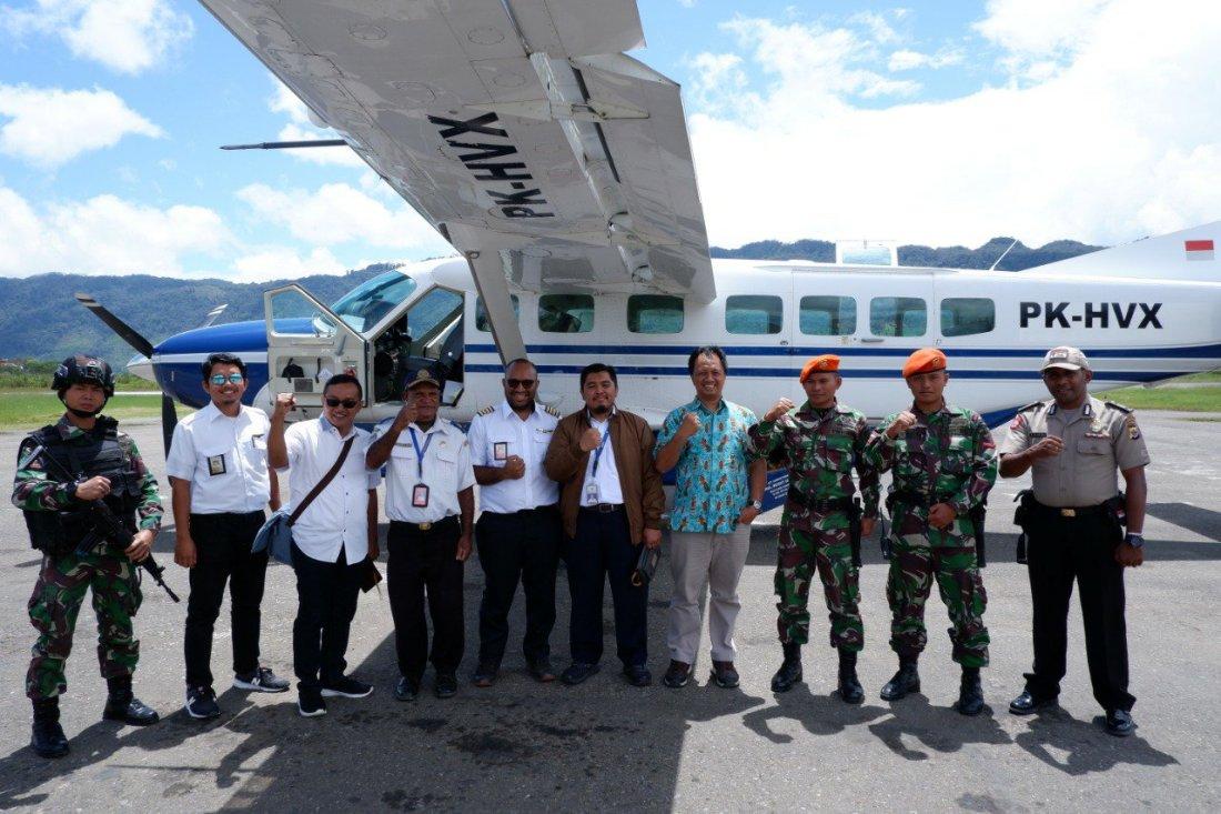 Program Jembatan Kemenhub Dirasakan Masyarakat Papua, Kalimantan dan Sulawesi