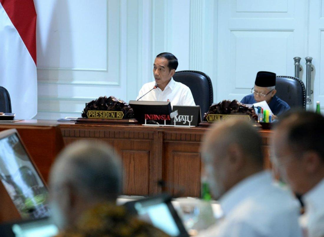 Jokowi Nilai Pemanfaatan Dana Desa 2020 Fokus Sektor Produktif dan Padat Karya