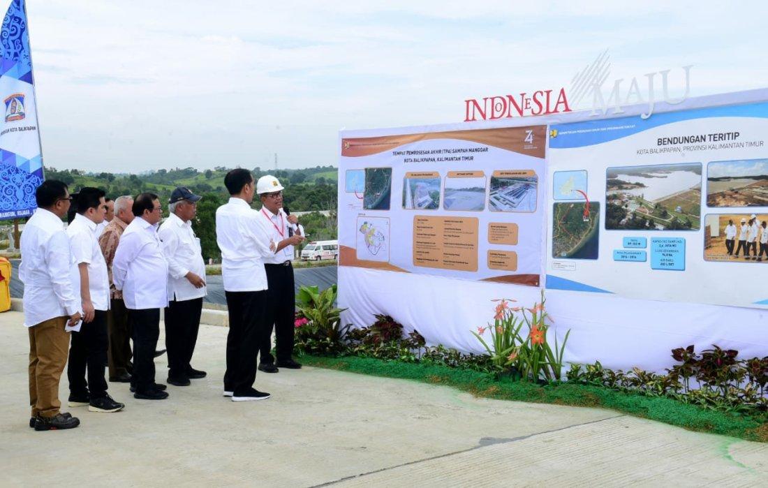 Jokowi Puji TPA Sampah Manggar Sebagai TPA Terbaik di Indonesia
