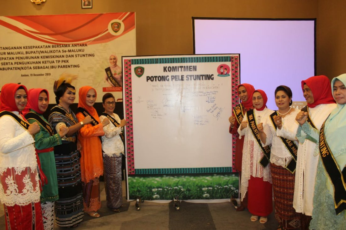 Widya Murad Ismail Ajak Seluruh Istri Bupati dan Walikota di Maluku Perangi Stunting