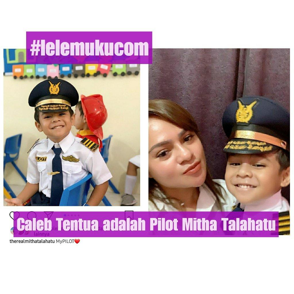Caleb Tentua adalah Pilot Pribadi Penyanyi Bersuara Merdu, Mitha Talahatu