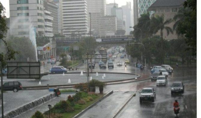 BMKG Nilai Curah Hujan di Indonesia Meningkat Dalam Sepekan