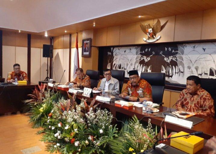 Murad Ismail Temui Yasonna Laoly Minta Dukungan Realisasi UU Daerah Kepulauan