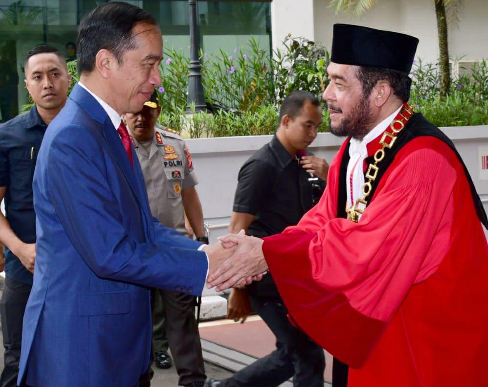 Joko Widodo Dorong Sinkronisasi Sistem Hukum Agar Lebih Adaptif dan Responsif Demi Kemajuan Indonesia