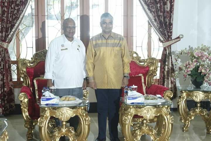 Pradeep Kumar Rawat Kunjungi Biak Guna Seriusi Kerjasama Siapkan SDM Unggul dan Berdaya Saing