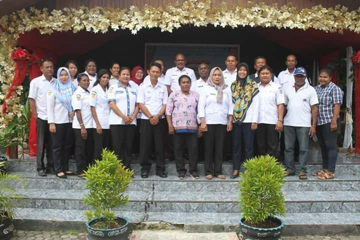 DP3AKB Biak Lakukan Rakor Tentang Kesepahaman Kampung KB