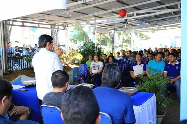 Vicky Lumentut Kunjungan Kerja di Kecamatan Sario