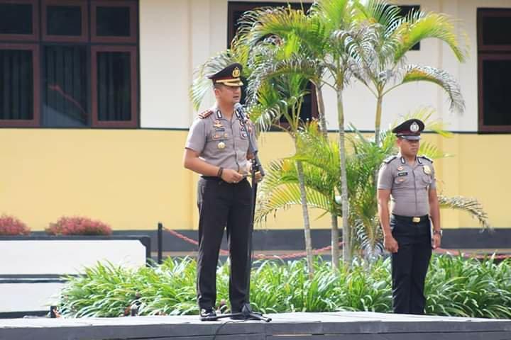 Andre Sukendar Ungkap Amanat Idham Aziz Saat Upacara HUT Satpam ke 39 di Kepulauan Tanimbar