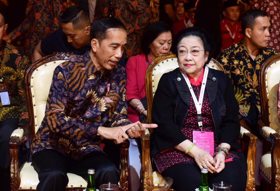 Jokowi Ucapkan Selamat HUT Ke-47 Kepada PDIP di Rakernas I