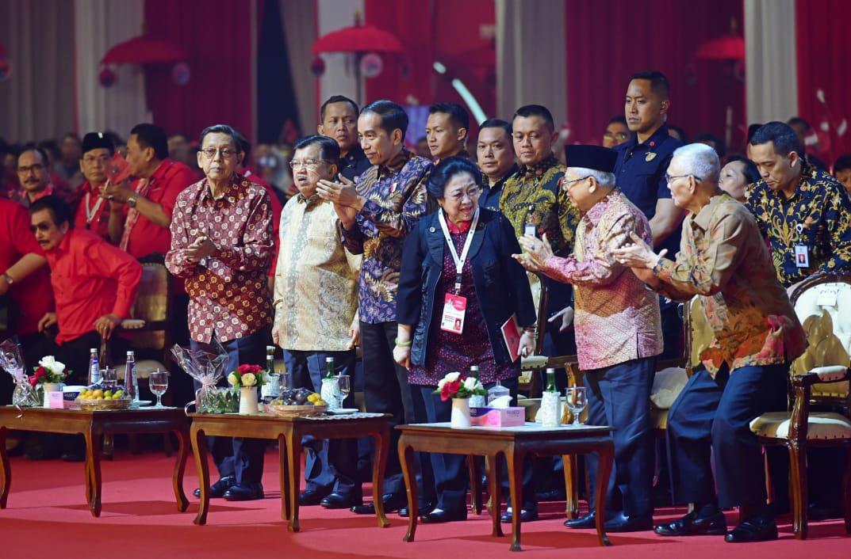 Jokowi Resmikan Pembukaan Rakernas I dan HUT ke 47 PDIP