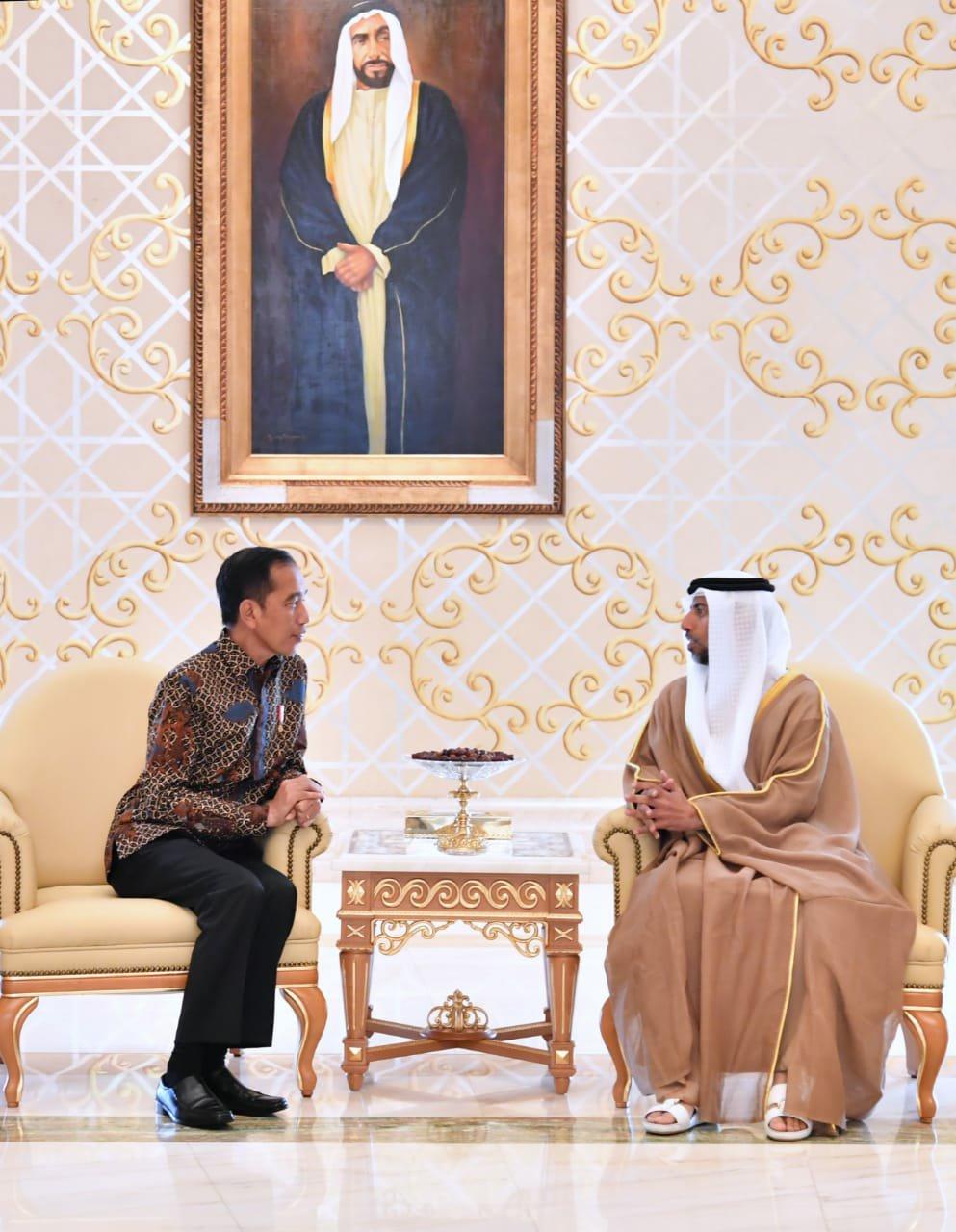 Jokowi Tiba di Abu Dhabi