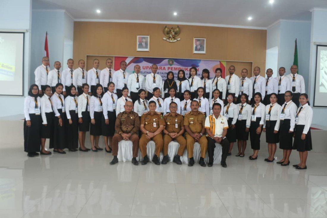121 CPNS Maluku Ikut Pelatihan Dasar Golongan III Tahun 2020