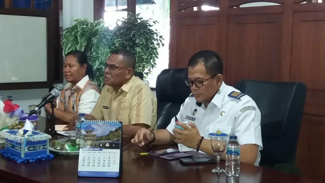 Sosialisasi Penyelenggaraan Angkutan Laut Bersubsidi Tol Laut Saumlaki-Dobo
