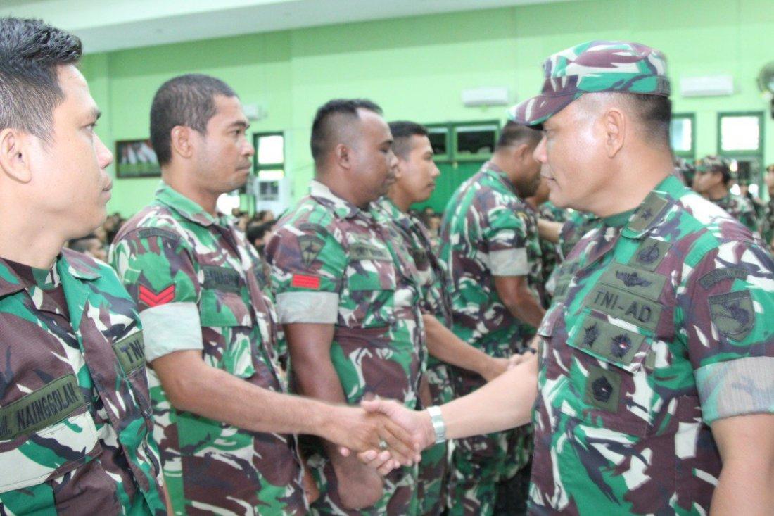 Irham Wairoihan Buka Pembekalan Personil Apter BKO di Kodim Cenderawasih
