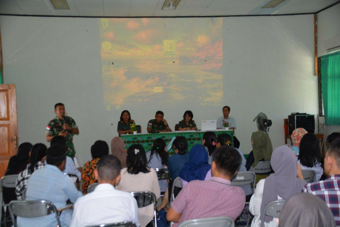 Korem 172 Gelar Sosialisasi Penerimaan Perwira Karier di Kedokteran Uncen