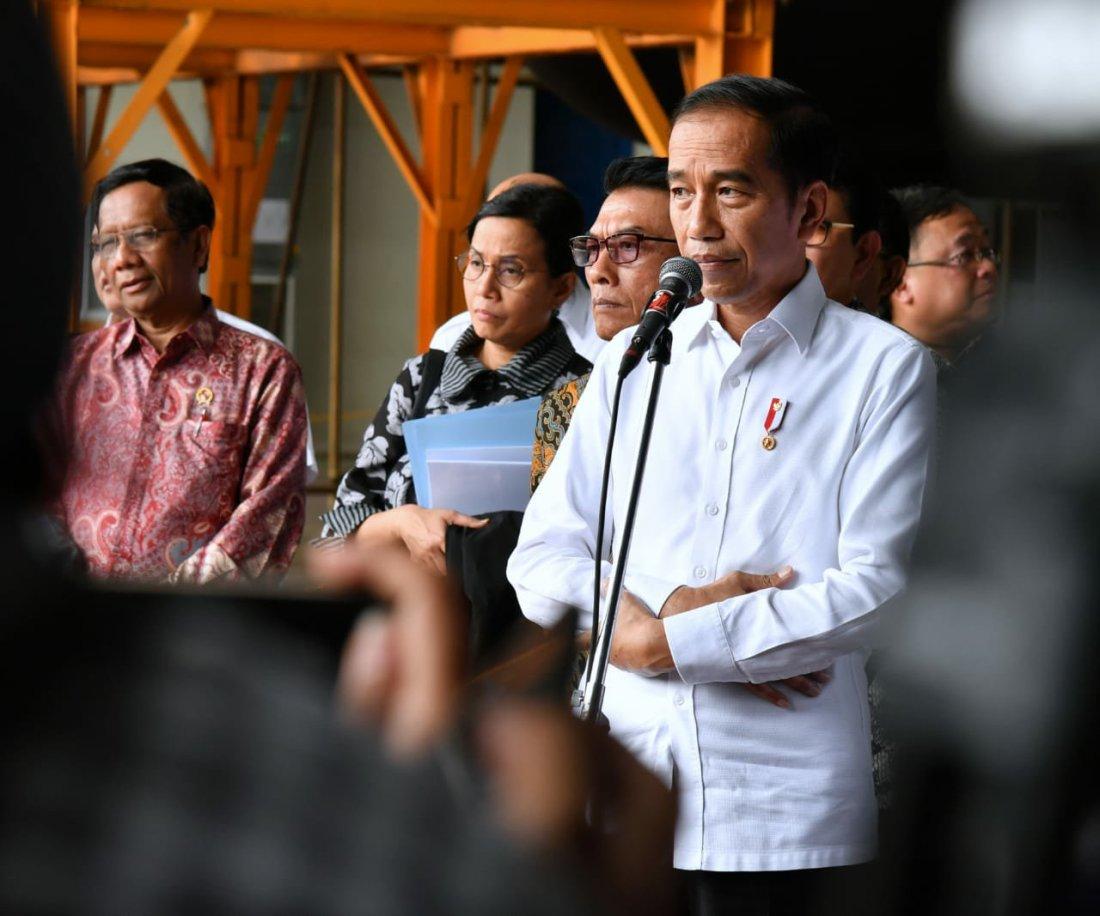 Jokowi Hadiri Pengukuhan Pengurus DPP Partai Hanura di Jakarta