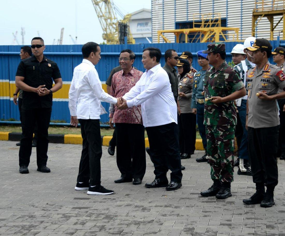 Jokowi Harapkan KRI Alugoro Berperan Dalam Kemandirian Alutsista Nasional