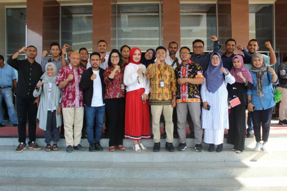 Billy Mambrasar Akui Widya Murad Ismail Punya Energi Besar Gali Potensi Anak Muda Maluku