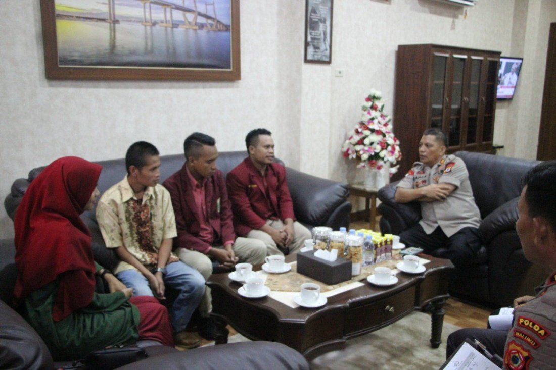 Ikatan Mahasiswa Muhammadiyah Maluku Beri Dukungan Kamtibmas Kepada Baharudin Djafar