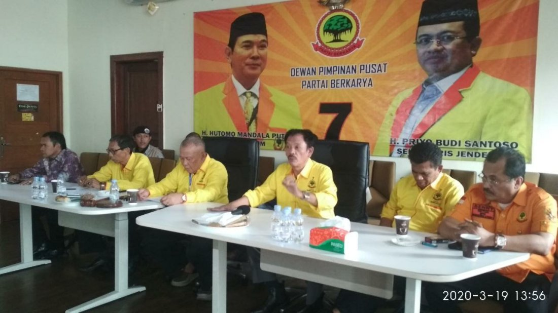 DPW Partai Berkarya Se-Indonesia Tolak Presidium Penyelamat Partai