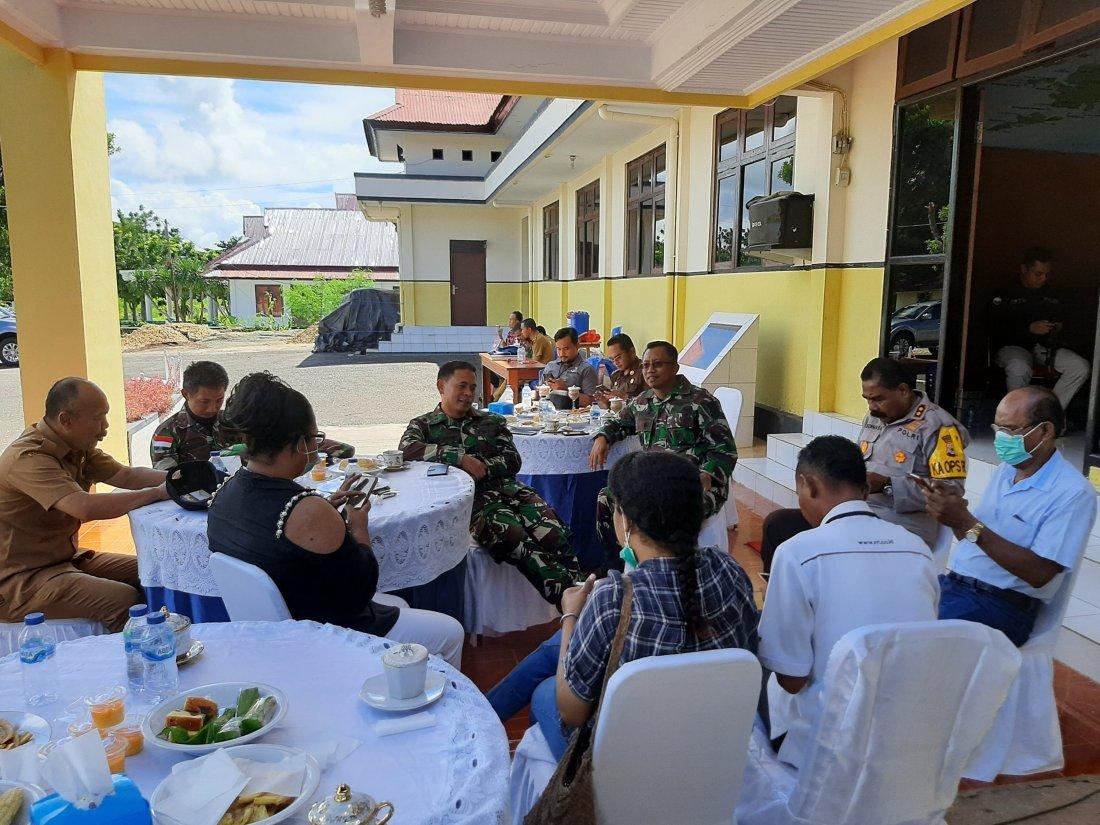 Danlanal Hartanto Pastikan Beri Karantina Super Ketat ke 40 Pekerja Dari Surabaya