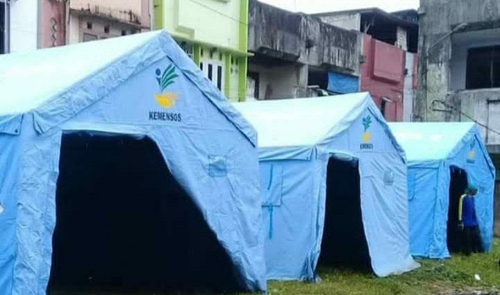 Pemkot Ambon Dirikan Tenda Darurat, Bantu Korban Kebakaran di Wilayah Ongkoliong Batu Merah