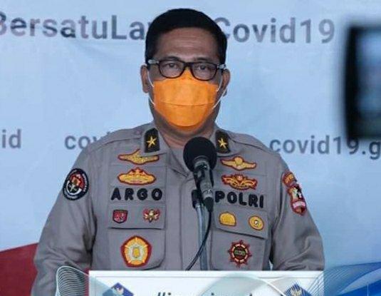 Polri Dukung Penuh Kebijakan Penegakan Hukum PSBB