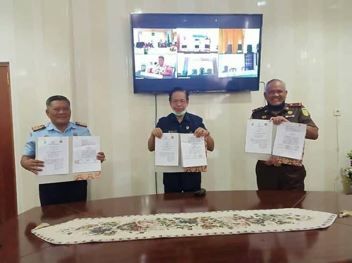 Yudi Handono, Zainuddin dan Andi Nurka Sepakat Gelar Sidang Secara Online di Maluku