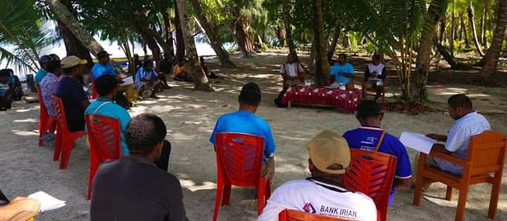 Lawan Covid-19 di Biak, Herry Naap Bentuk Relawan Tingkat Kampung