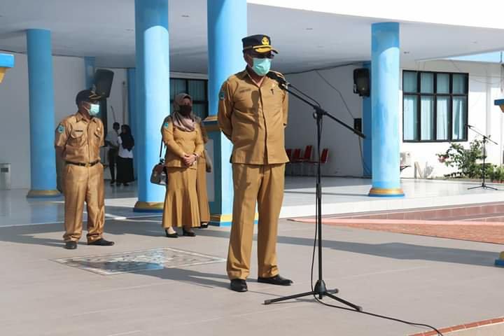 Yusuf Salim Lepas 225 Mahasiswa KKN Universitas Muhamadiya Sorong