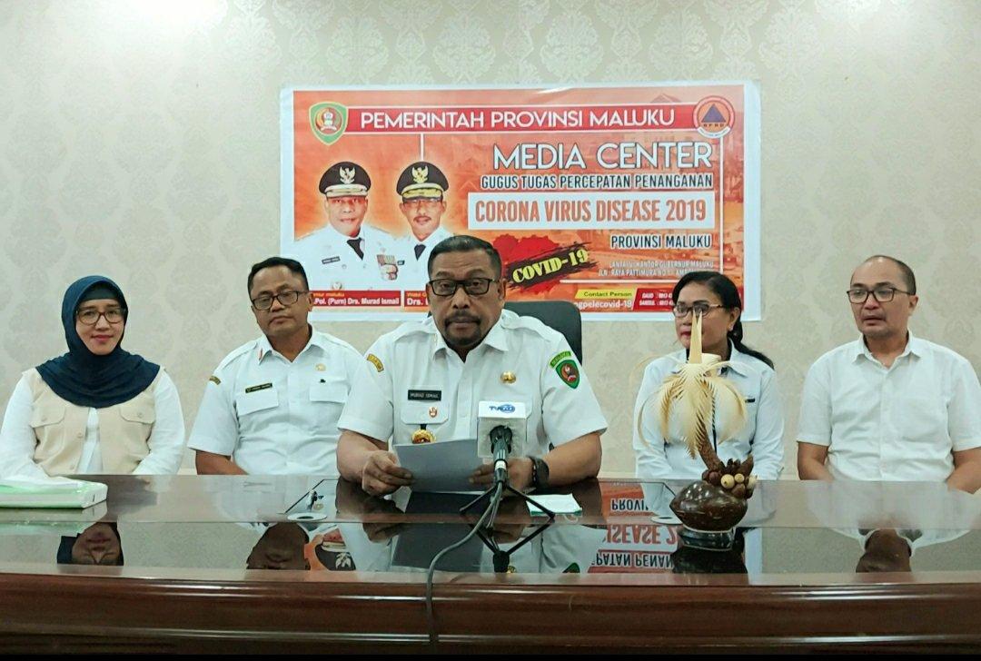 Murad Ismail Umumkan Pasien 01 Positif Covid-19 di Maluku Sembuh