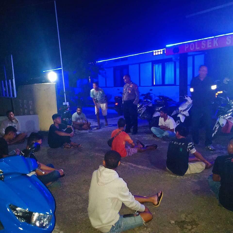 Yogie Gultom Pimpin Patroli Malam, Pengamanan Pelaku Balapan Liar di Saumlaki - Lelemuku.org ...