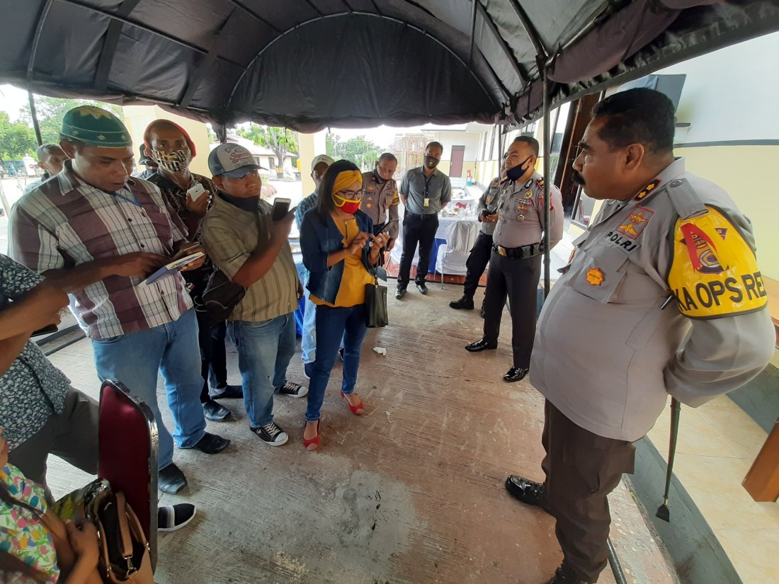 Pandemi COVID-19 Dongkrak Angka Kriminalitas Naik di Saumlaki