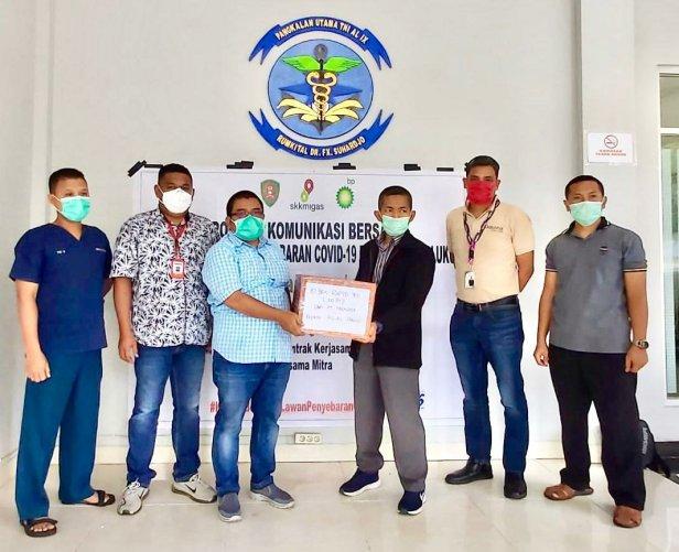 Industri Hulu Migas Donasi 500 Rapid Test di Maluku