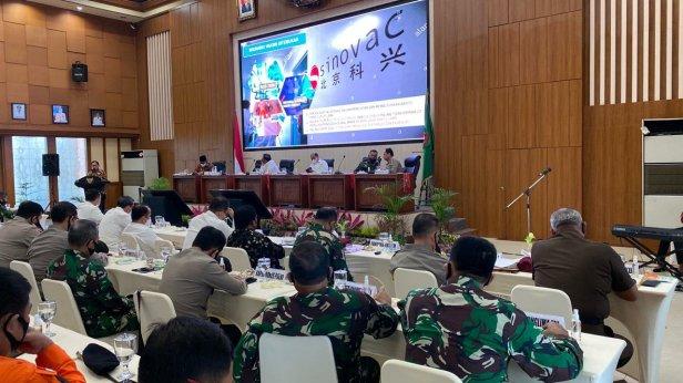 Jokowi Utus Para Menteri Bahas Pilkada Serentak dan Adaptasi Kebiasaan Baru Taat Protokol Kesehatan di Maluku