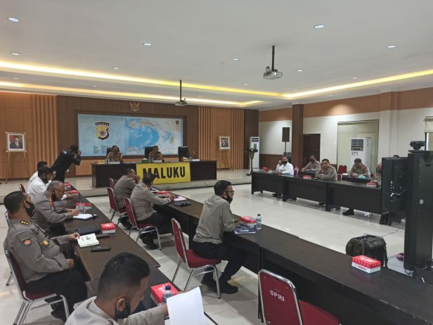 Jan de Fretes Pimpin Anev Ops Aman Nusa II Siwalima Polda Maluku