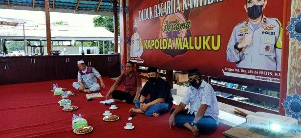 Bacarita Kamtibmas Secara Virtual, Polda Maluku Angkat Tema Pilkada Serentak 2020