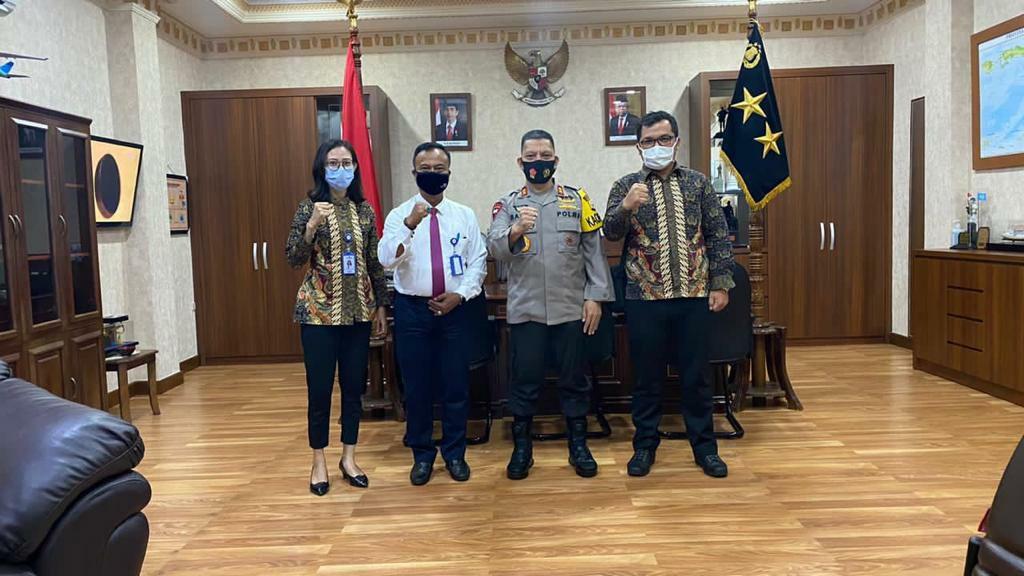 Baharudin Djafar Terima Kunjungan Kepala Taspen Maluku
