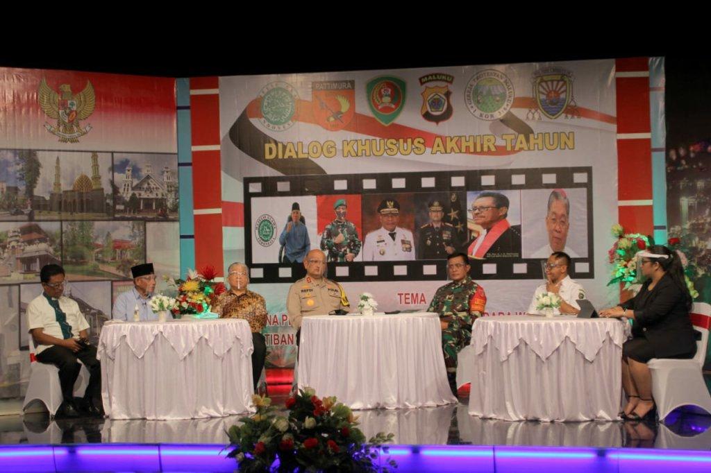 Refleksi Kamtibmas Tahun 2020, Polda Maluku Gelar Dialog Interaktif