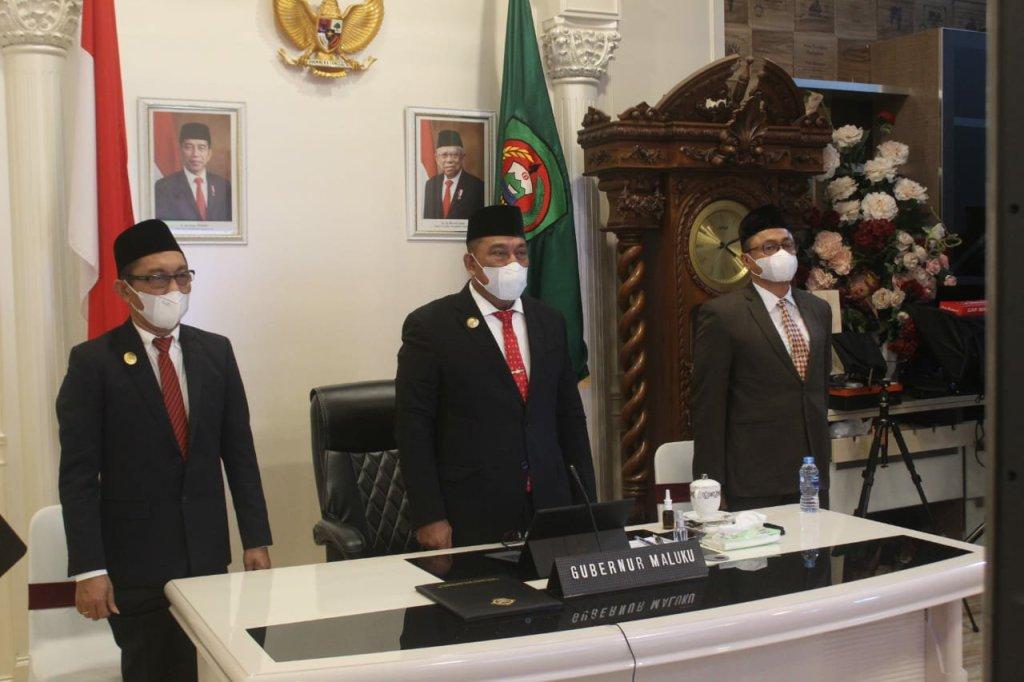 Murad Ismail Sebut Pemprov Maluku Kembali Raih Opini WTP BPK RI